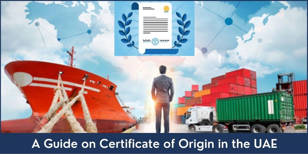 Certificate of Origin UAE
