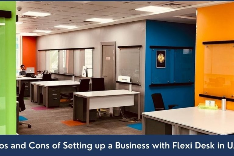 advantages and drawbacks of setting up a business with flexi desk in UAE